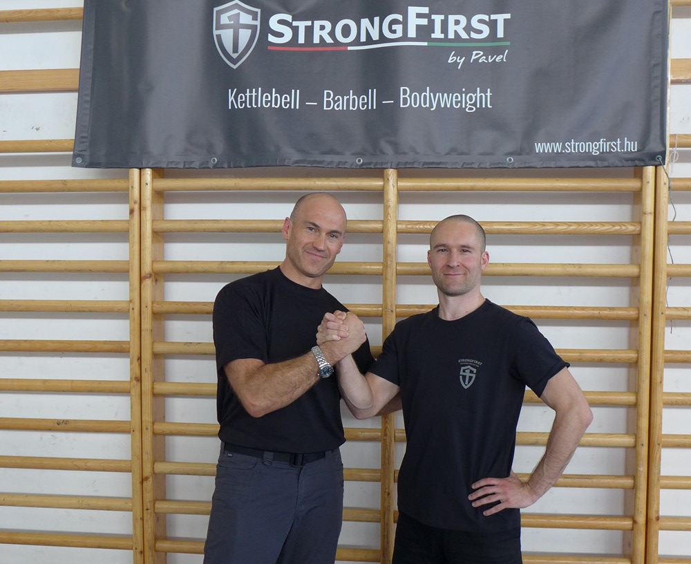 with Pavel Tsatsouline, my strength master